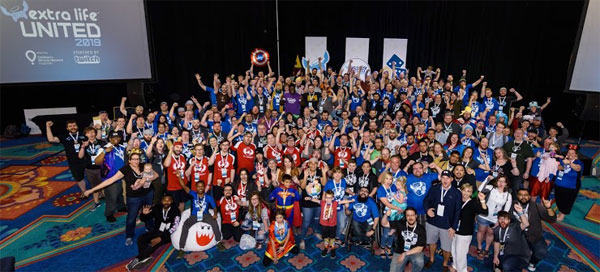 Extra Life Unlimited team photo