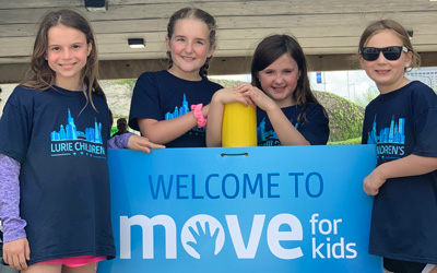 Move for the Kids Participants