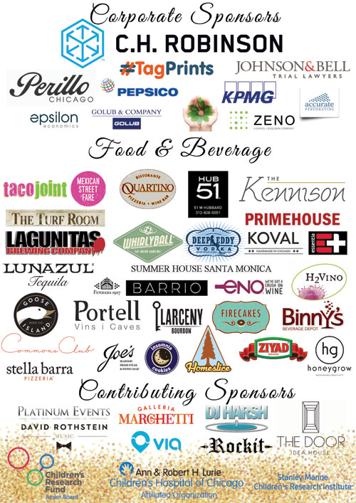 Cocktails for a Cause Sponsors