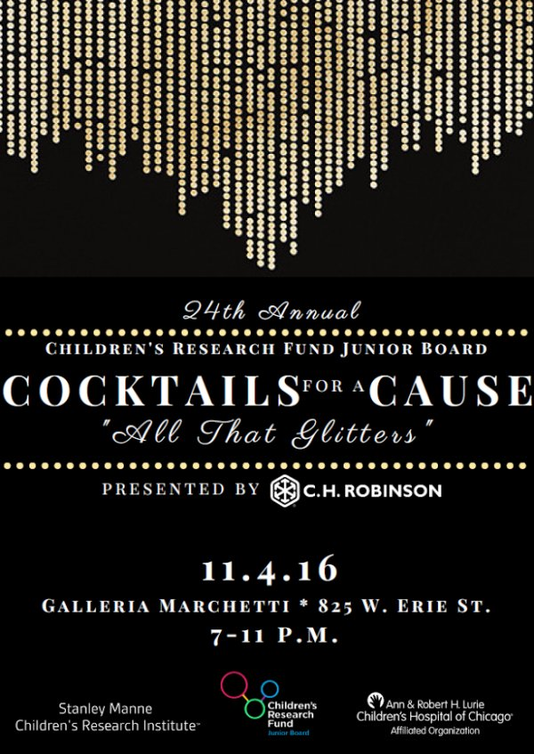 Cocktails for a Cause Invite